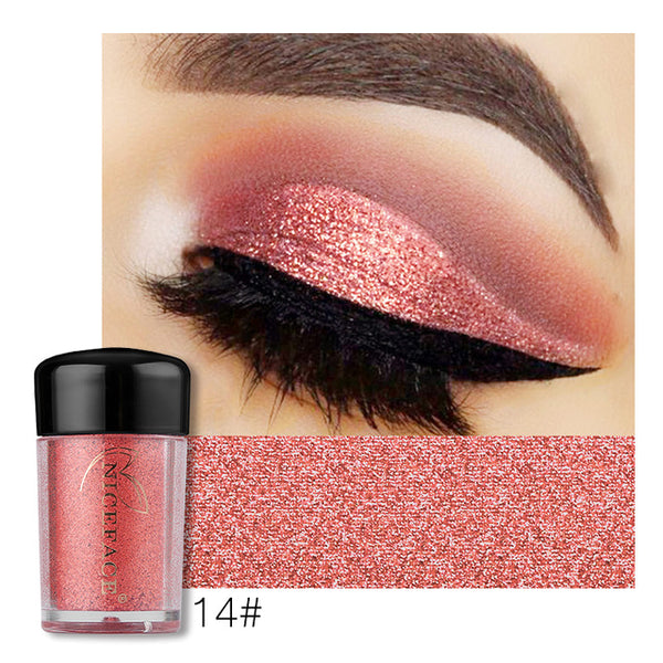 NICEFACE Pigment Glitter Powder Eyeshadow - ALLUNIK SHOP