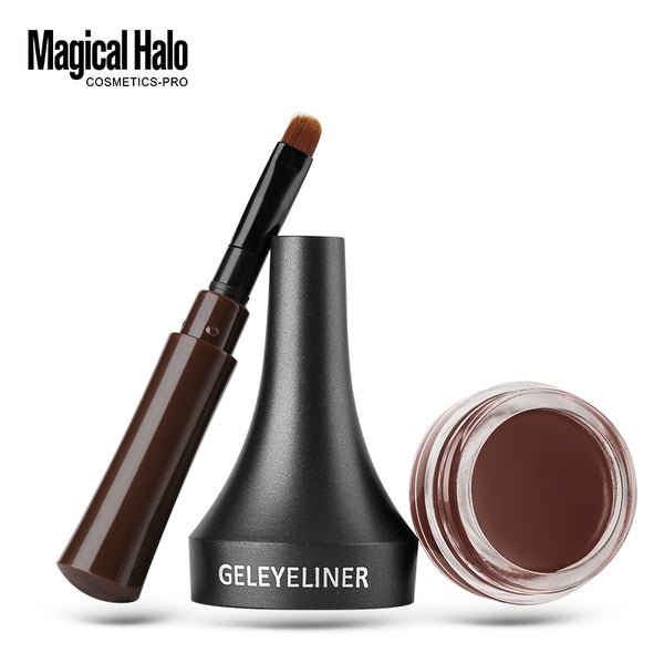 Magical Halo Waterproof  Eyebrow Gel Tint Brown with Brush - ALLUNIK SHOP