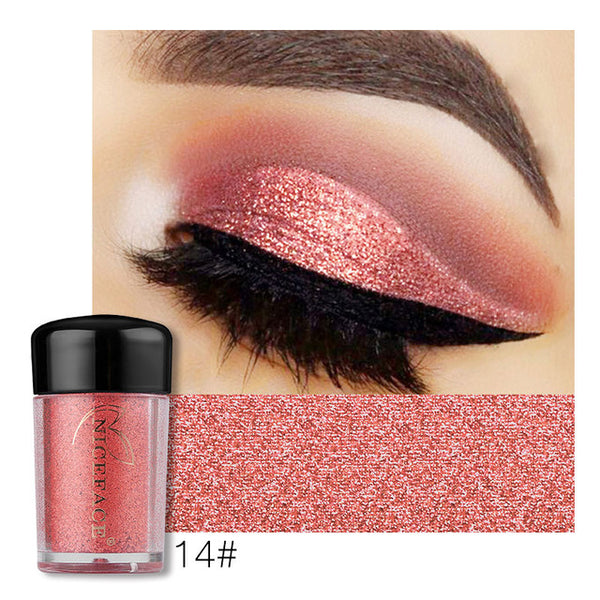 NICEFACE   Loose Powder Sparking Glitter Eyeshadow Pigment - ALLUNIK SHOP