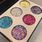 Beauty Glazed Pressed Glitters Rainbow Eyeshadow Palette - ALLUNIK SHOP