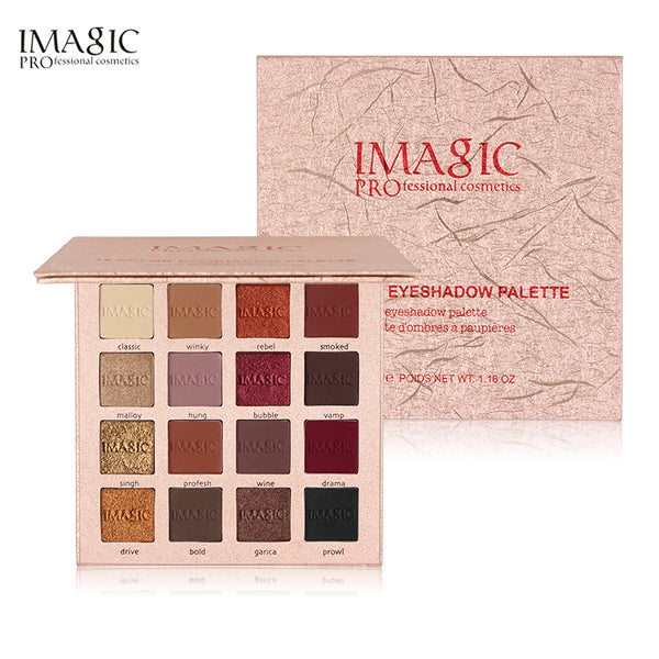 IMAGIC New Eyeshadow 16 Colors  Palette - ALLUNIK SHOP