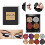 NAQIER single Glitter  Waterproof Shimmer Eyeshadow - ALLUNIK SHOP