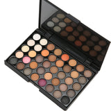 40 colors Smoke Eyeshadow Palette Nude - ALLUNIK SHOP