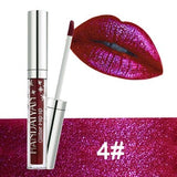 7 Colors Metallic flashing Liquid Matte Lipstick