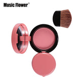 Music Flower Face Blusher 6 Colours Shading Powder - ALLUNIK SHOP