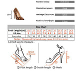 Leopard print Pointed Toe Flock 12 cm High Heels