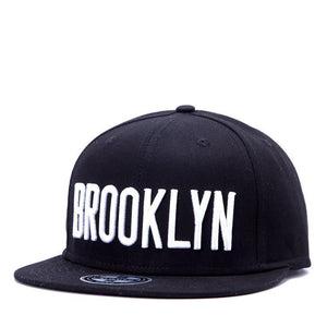 "Snapback шапка с бродерия ""Brooklin"" - Enjoy Life"