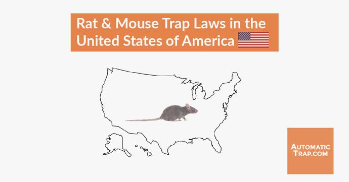 Rat & Mouse Trap Laws in the United States of America