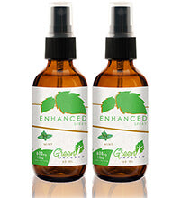 2 x Mint Enhanced Hemp Oil Spray Bundle