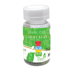 CBD Hemp Big Gummy Bears