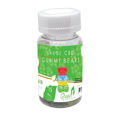 CBD Oil Gummy Bears 15 Pack