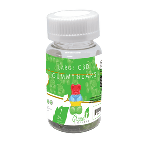 CBD Oil Gummy Bears 7 Pack