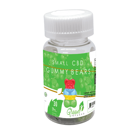 CBD Oil Gummy Bears 30 Pack