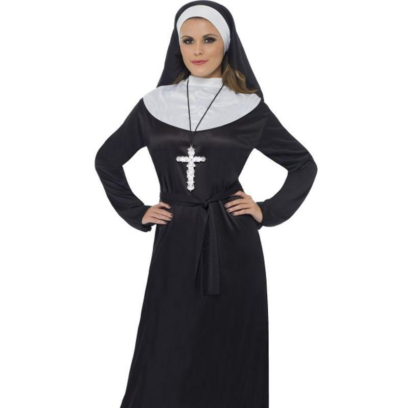 Nun Costume Adult Black