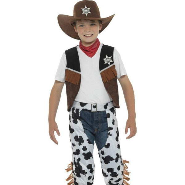 Texan Cowboy Costume - Small Age 4-6