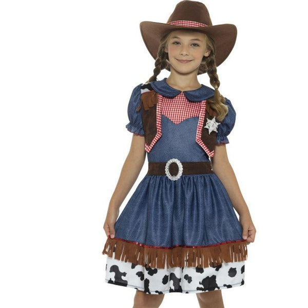 Texan Cowgirl Costume - Small Age 4-6