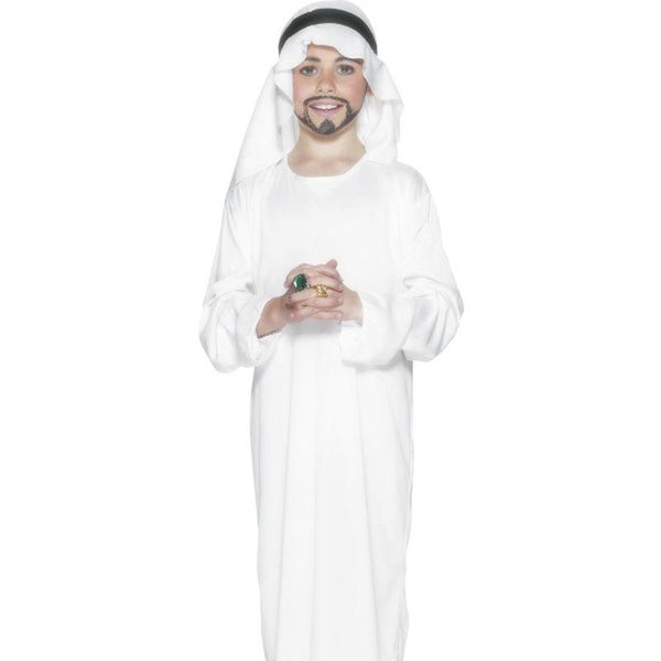 Arabian Costume - Medium Age 6-8 Boys White