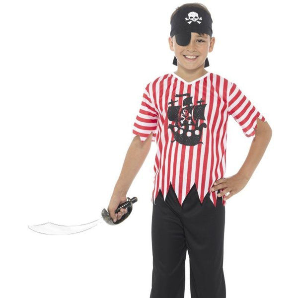 Jolly Pirate Boy Costume - Small Age 4-6