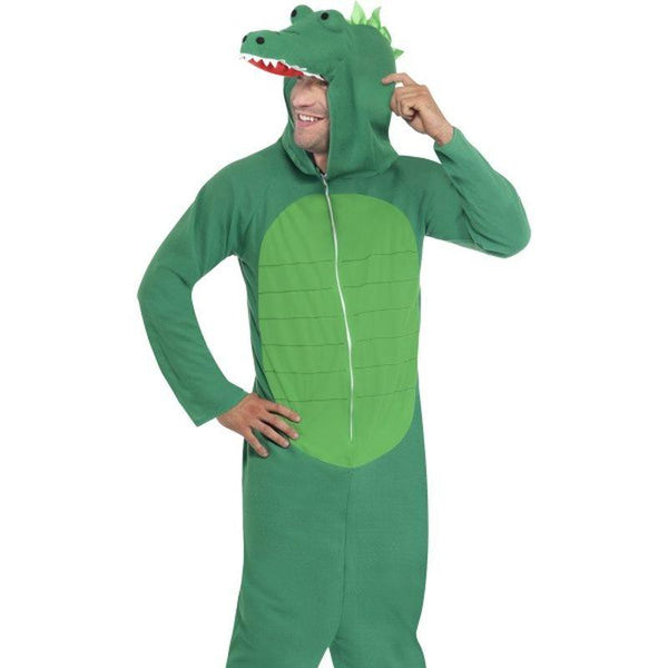 Crocodile Costume - Medium Mens Green