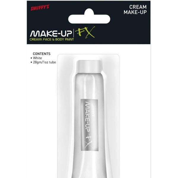 Smiffys Make-Up FX, Aqua Cream Make-Up - One Size