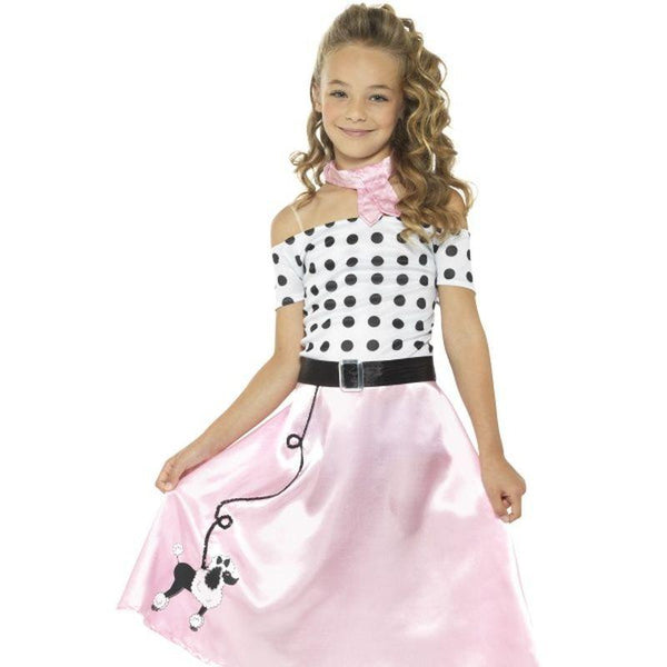 50's Poodle Girl Costume - Tween 12+
