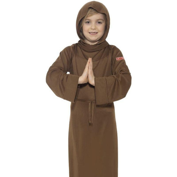 Horrible Histories Monk Costume - Medium Age 7-9 Boys Brown