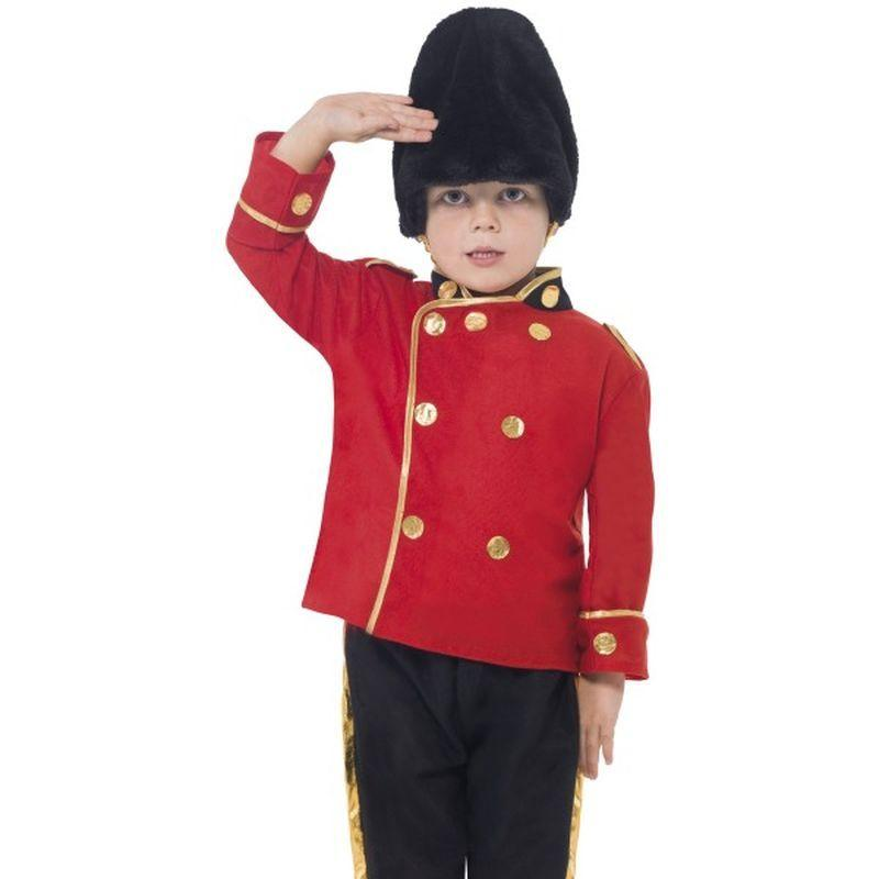 Busby Guard Costume - Small Age 4-6 Boys Red/Black