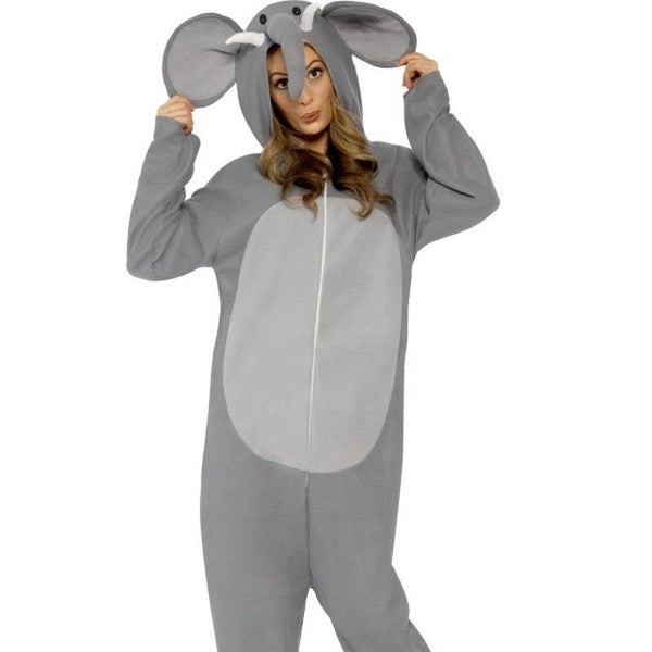 "Elephant Costume - Chest 42""-44"", Leg Inseam 33"" Mens Grey"