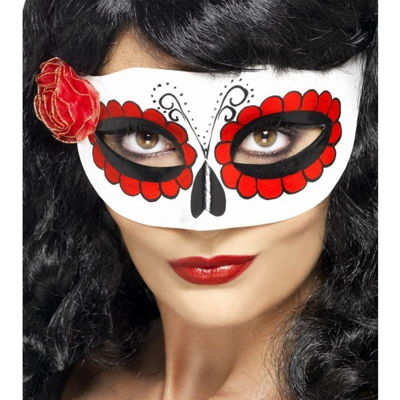 Mexican Day Of The Dead Eyemask - One Size