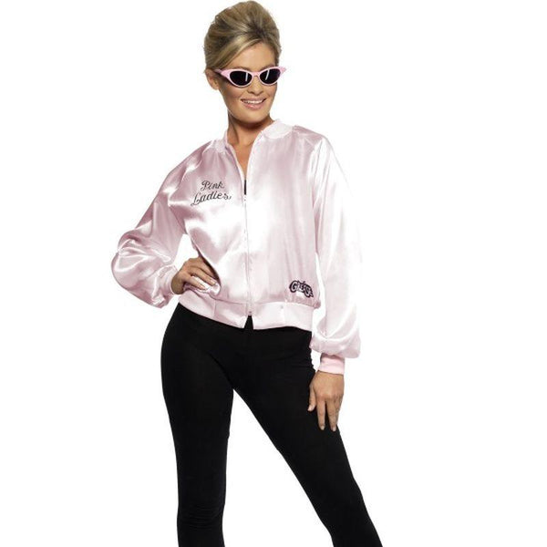 Pink Lady Jacket, For Grease - UK Dress 8-10 Womens Pink