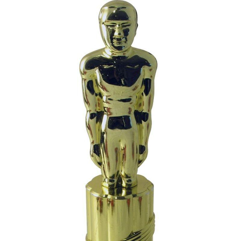 Plastic Statue - One Size Mens Gold