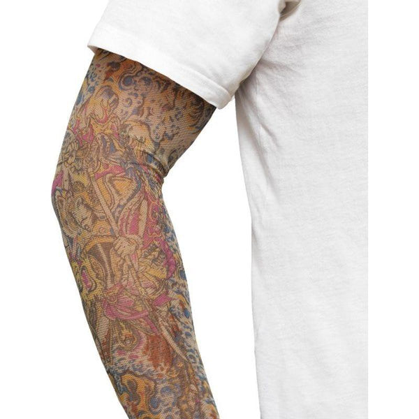 Tattoo Arm Sleeves 2 Assorted - One Size