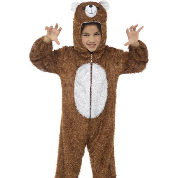 Bear Costume, Medium - Medium Age 7-9 Boys Brown
