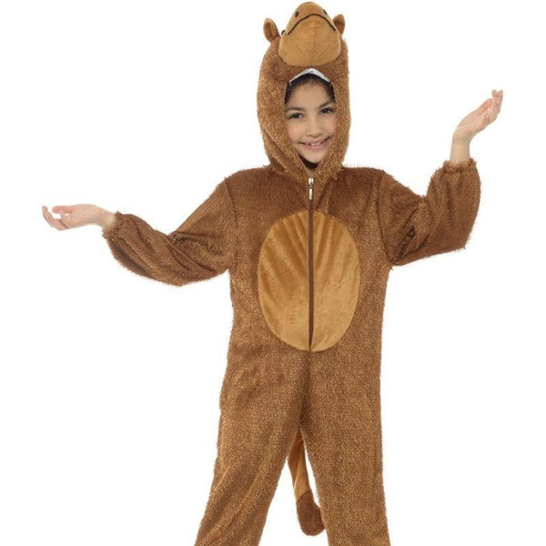Camel Costume, Medium - Medium Age 7-9 Boys Brown