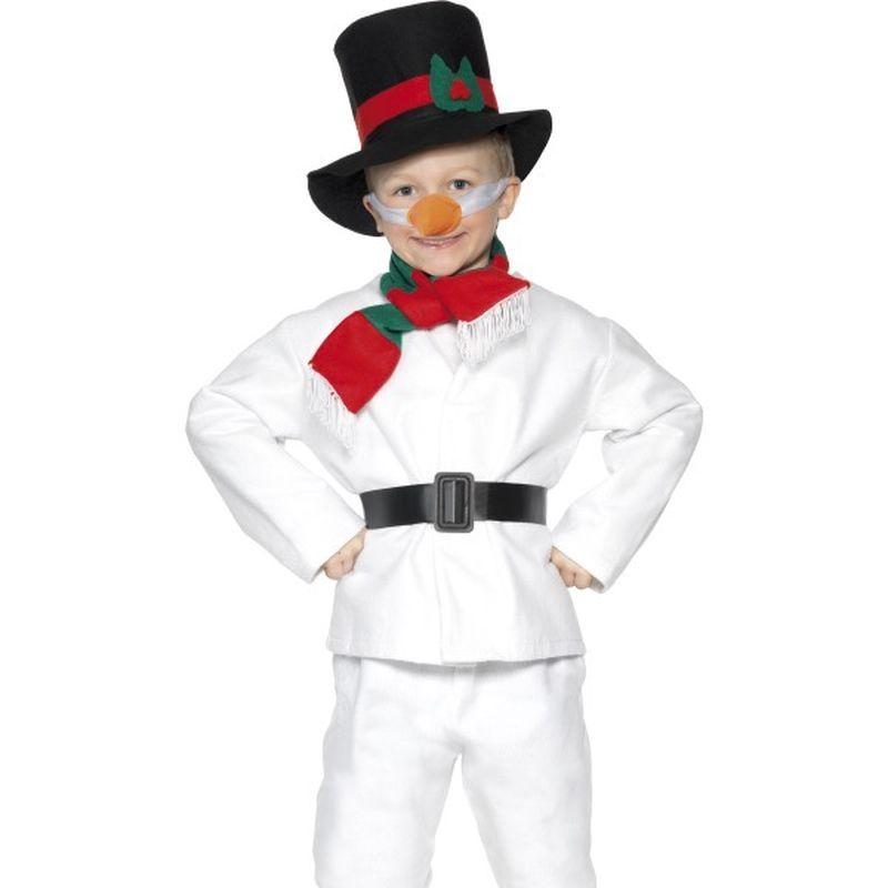 Snowman Costume - Small Age 3-5 Boys White