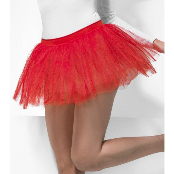 Tutu Underskirt - One Size Womens Red