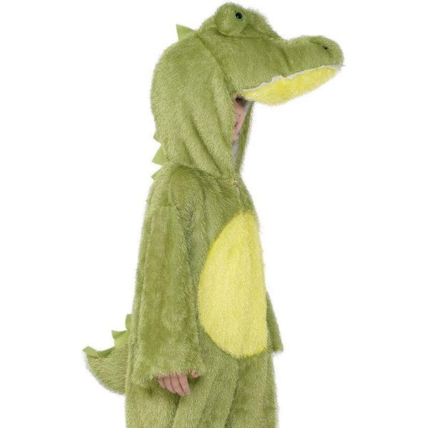 Crocodile Costume, Small - Small Age 4-6 Boys Green