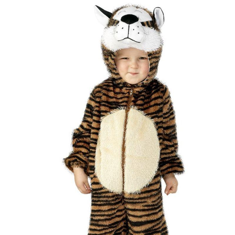 Tiger Costume, Small - Small Age 4-6 Boys Tiger