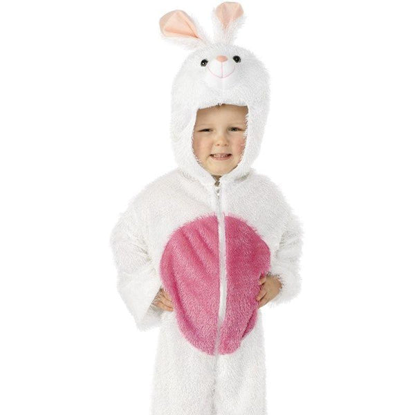 Bunny Costume, Small - Small Age 4-6 Boys White/Pink