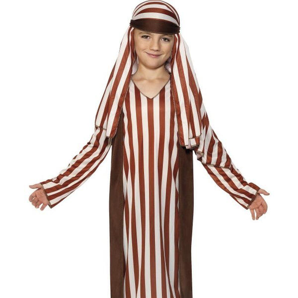 Shepherd Costume, Child - Small Age 4-6 Boys Brown/White