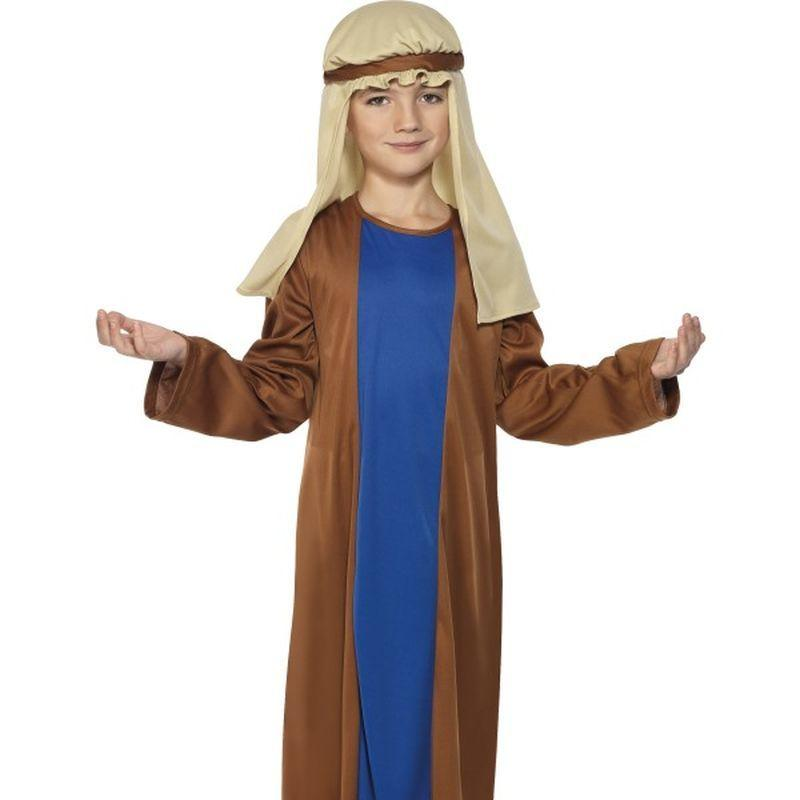 Joseph Costume, Child - Small Age 4-6 Boys Brown/Blue