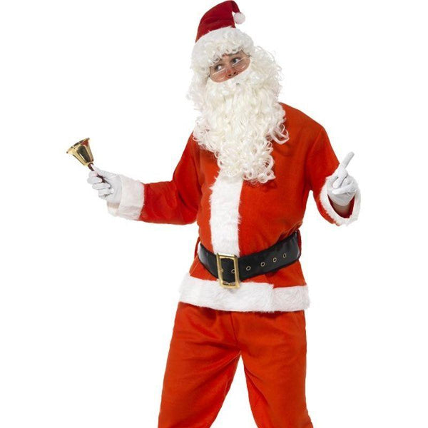Santa Costume, Adult - XL Mens Red/White