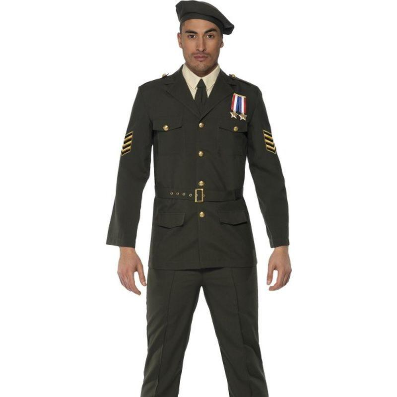 Wartime Officer - Medium Mens Green