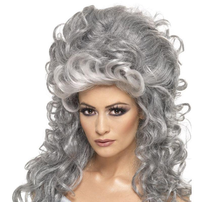 Medeia Witch Beehive Wig - One Size Womens Blue