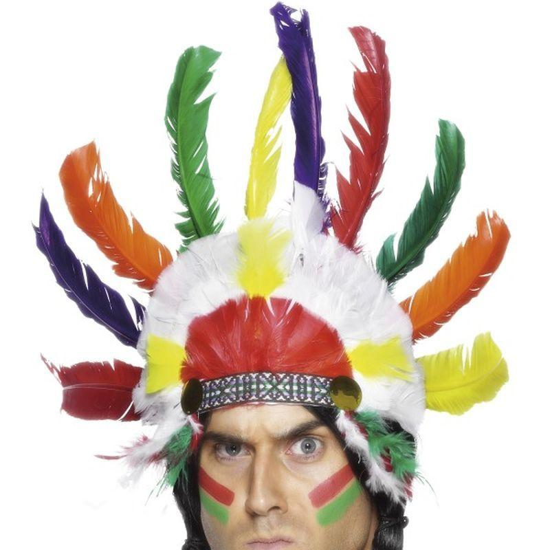 Native American Inspired Headdress - One Size