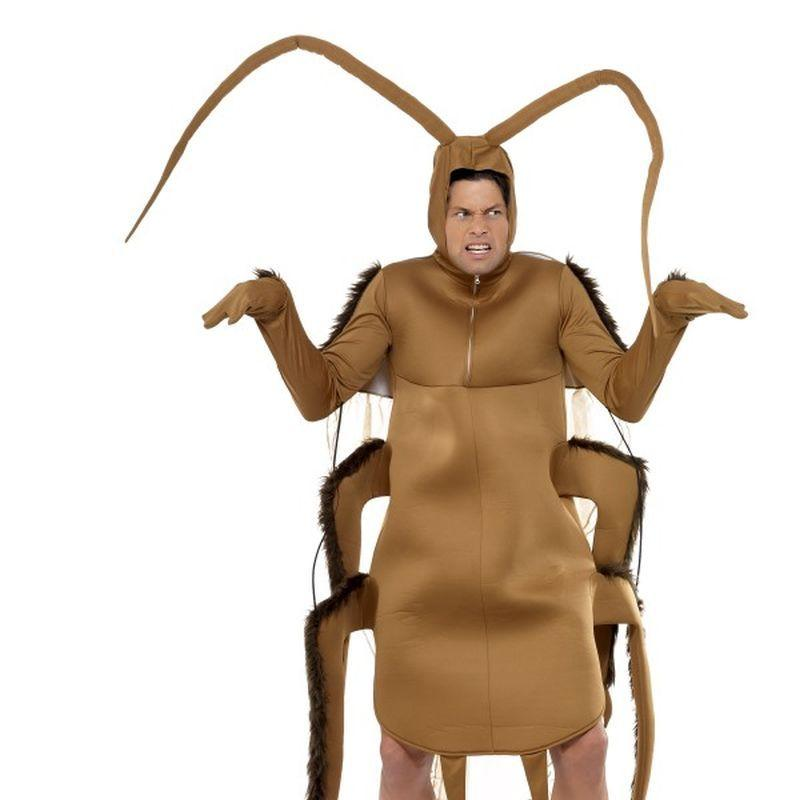 Cockroach Costume - One Size Mens Brown