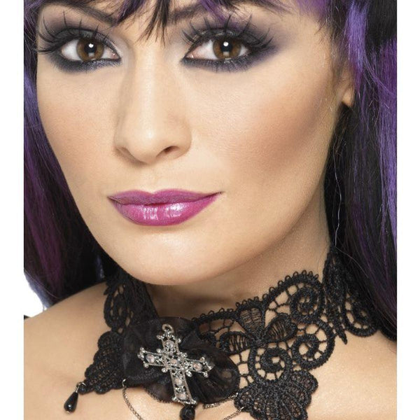 Gothic Lace Choker - One Size