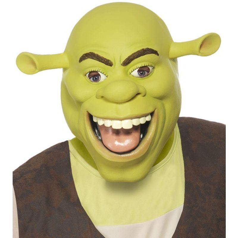 Shrek Latex Mask - One Size Mens Green