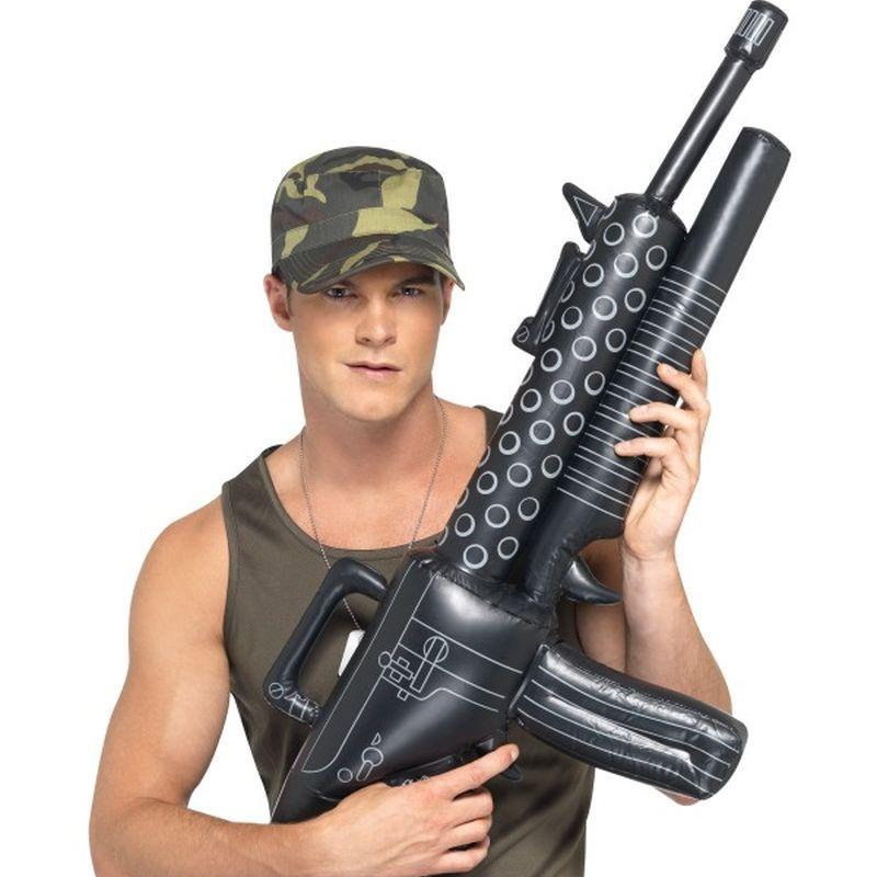 Inflatable Machine Gun - One Size
