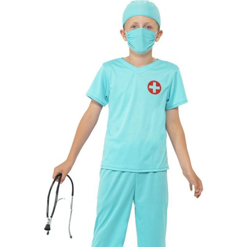 Surgeon Costume - Small Age 4-6 Boys Blue